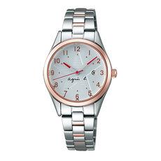 【agnes b.】限定低調閃耀星空女腕錶-29mm/金x銀VJ22-KR60KS/BH7013X1