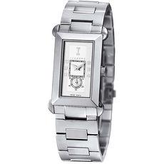 ICEBERG 義式系列不鏽鋼錶帶腕錶-白/34mm
