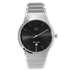 【MAXMAX】【完全計時】手錶館│Max Max 洗鍊風格 MAS7023-1 紳士精神 316ML不銹鋼錶帶 情人對錶(MAS7026)
