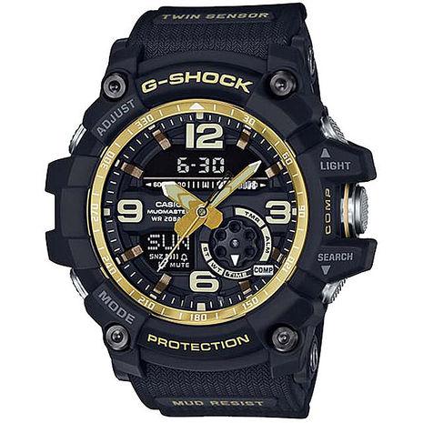 【CASIO 卡西歐】G-SHOCK MASTER OF G系列運動錶GG-1000GB-1ADR
