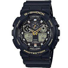 G-SHOCK街頭時尚金色點綴主題休閒錶GA-100GBX-1A951mm