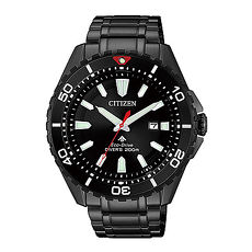 【CITIZEN星辰】Promaster 光動能極致探索腕錶-黑-BN0195-54E-42mm