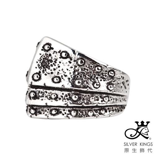 原生飾代SilverKings 騎士精神 316L白鋼戒指國際戒圍#11