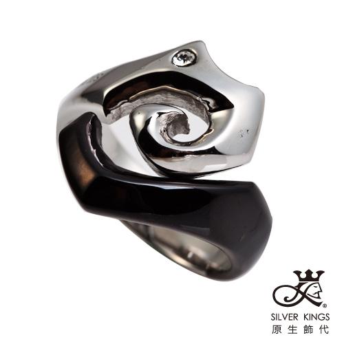 原生飾代SilverKings 陰陽海 316L白鋼戒指國際戒圍#13