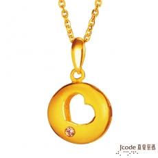 J'code真愛密碼 洞悉愛情黃金項鍊(預購)