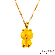 【J'code真愛密碼】 LINE熊大等你愛黃金項鍊
