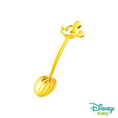 Disney迪士尼系列金飾 黃金湯匙-米奇款