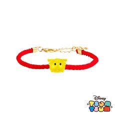 迪士尼TSUM TSUM系列金飾 黃金編織手鍊-巴斯光年款