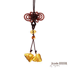 J'code真愛密碼 黃金包中(粽)系列-連中 黃金粽子吊飾