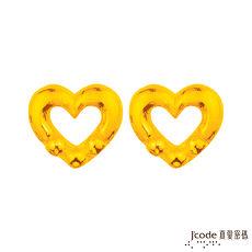 【預購】J'code真愛密碼 點點愛情黃金耳環