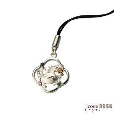 【預購】J'code真愛密碼 富貴貔貅黃金/純銀/水晶吊飾