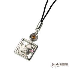 【預購】J'code真愛密碼 亨通貔貅黃金/純銀/水晶吊飾