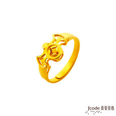 【預購】J'code真愛密碼 福臨黃金/水晶戒指