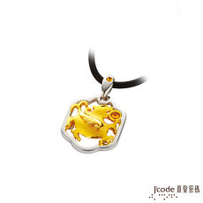【預購】J'code真愛密碼 發財貔貅黃金/純銀/水晶女墜子 送項鍊