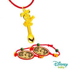 Disney迪士尼系列金飾 彌月金飾湯匙套組禮盒-榜首美妮款 0.6錢