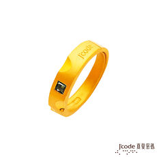 【預購】J'code真愛密碼 遼闊黃金/水晶男戒指