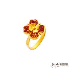 【預購】J'code真愛密碼 幸運祝福黃金/水晶戒指