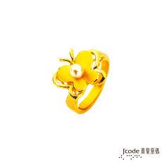 【預購】J'code真愛密碼 相伴飛舞黃金戒指