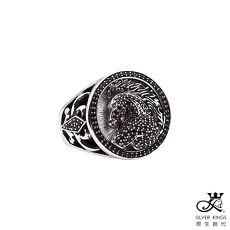 原生飾代SilverKings 奔馬純銀戒指