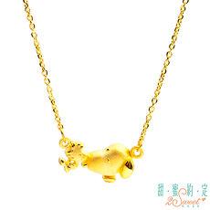 甜蜜約定2SWEET 友情相伴Snoopy黃金鎖骨項鍊