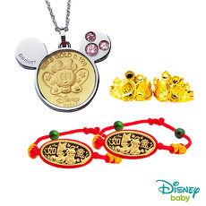 Disney迪士尼 彌月金飾五件式禮盒-可愛蝴蝶美妮款