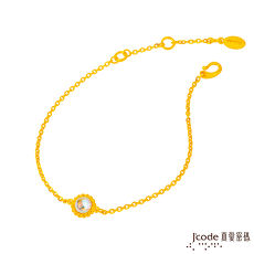 【預購】J'code真愛密碼 小太陽黃金手鍊