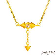 【預購】J'code真愛密碼 極光之戀黃金/水晶項鍊