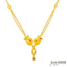 【預購】J'code真愛密碼 永恆的祝福黃金項鍊