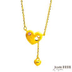 【預購】J'code真愛密碼 幸福愛黃金/水晶項鍊