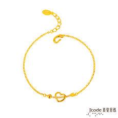 【預購】Jcode真愛密碼 一箭鍾情黃金手鍊