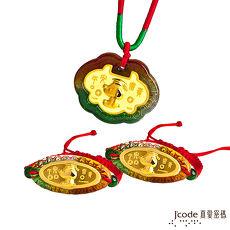 J'code真愛密碼 博士旺旺黃金彌月禮盒-0.2錢