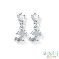 甜蜜約定2SWEET 花漾年華Snoopy純銀耳環