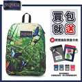 43117【JANSPORT】HIGH STAKES系列後背包 -熱帶叢林