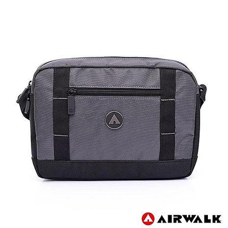 AIRWALK 獨立本性休閒側背包 -灰色 A725300310