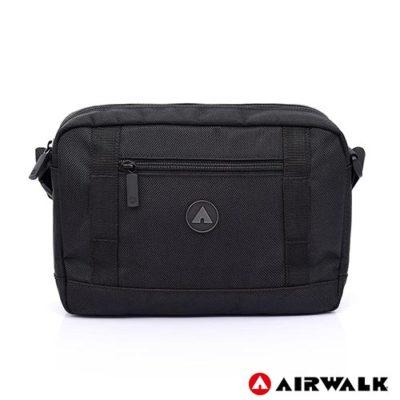AIRWALK 獨立本性休閒側背包 -黑色 A725300320