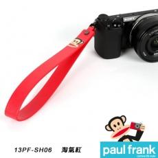 Paul Frank 類單及小型數位相機手腕帶系列-小DC寬版手腕帶[PF13PF-SH06-R/淘氣紅]