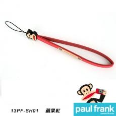 Paul Frank類單及小型數位相機細版手腕帶系列-小DC窄版手腕帶[PFPF-SH01-R/蘋果紅]