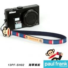 Paul Frank類單及小型數位相機細版手腕帶系列-小DC窄版手腕帶[PFPF-SH02/海軍條紋]