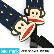 Paul Frank DSLR數位單眼相機背帶系列[13PF-SN30/藍底黃點]