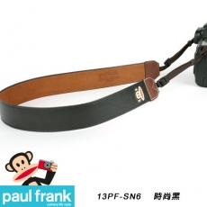 Paul Frank DSLR數位單眼相機背帶系列[PF13PF-SN6-BK/時尚黑]