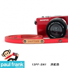 Paul Frank 微型單眼相機背帶系列[PF13PF-SN1-R/洋紅色]