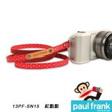 Paul Frank 微型單眼相機背帶系列[PF13PF-SN15/紅點點]