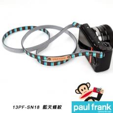 Paul Frank 微型單眼相機背帶系列[PF13PF-SN18/藍天條紋]
