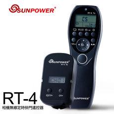 SUNPOWER RT-4 相機無線定時快門遙控器