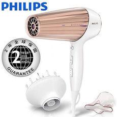 買就送 【PHILIPS 飛利浦】新一代溫控天使護髮吹風機 HP8280