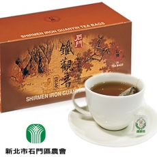 預購七日《石門》鐵觀音袋茶(25入/盒,共三盒)