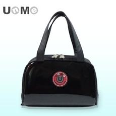 任選【勤澤軒】UnMe可愛立體輕巧餐袋(鏡黑色)