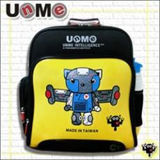 【勤澤軒】UnMe機器人雙層人體工學後背書包(黃色)