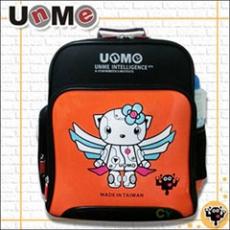 【勤澤軒】UnMe機器人雙層人體工學後背書包(橘色)