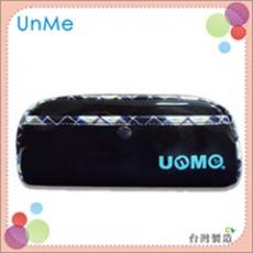 任選【勤澤軒】UnMe單格紋風筆袋( 藍色)